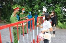 Dịch COVID-19: Bắc Ninh quyết liệt lập hàng rào thép chống dịch