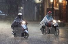 Bắc Bộ cuối tuần mưa dông diện rộng, Trung Bộ kết thúc đợt nắng nóng