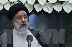 Tổng thống Iran Ebrahim Raisi đề nghị Nhật Bản gỡ phong tỏa tài sản