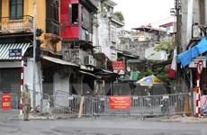 Hà Nội: 214 tiểu thương chợ Ngọc Hà âm tính lần 1 với SARS-CoV-2