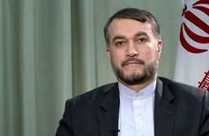 Tân Ngoại trưởng Iran Hossein Amir Abdollahian thăm Syria