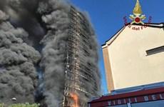Italy: Cháy lớn tại chung cư ở ngoại vi thành phố Milan