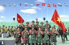Army Games 2021: Đội tuyển Công binh QĐND Việt Nam xuất sắc giành HCĐ