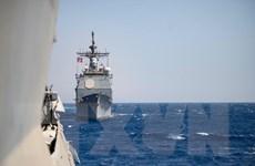 Hải quân Israel lần đầu tiên tập trận với Hạm đội 5 Hải quân Mỹ