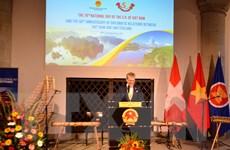 Bạn bè quốc tế tại Thụy Sĩ chúc mừng 76 năm Quốc khánh Việt Nam