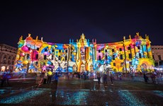 Lễ hội ánh sáng lung linh, huyền ảo tại thủ đô Berlin của Đức