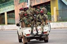 Guinea: Phe đảo chính giải tán chính phủ và các thể chế hiện hành