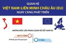 [Infographics] Mối quan hệ Việt Nam-EU ngày càng phát triển