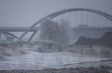 Trung Quốc: Bão Chanthu tiến sát Thượng Hải, sóng biển cao tới 8m