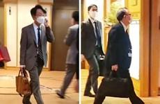 """Nhật Bản-Hàn Quốc nhất trí liên lạc chặt chẽ để """"hướng tới tương lai"""""""