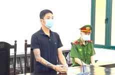 Lĩnh án 12 tháng tù vì chống người thi hành công vụ tại chốt kiểm dịch