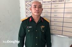 Đồng Nai: Tạm giữ đối tượng giả danh bộ đội để qua chốt kiểm soát dịch