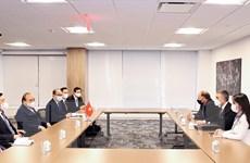 Chủ tịch nước Nguyễn Xuân Phúc tiếp các tập đoàn, doanh nghiệp Hoa Kỳ