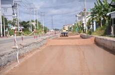 Long An: Nỗ lực vượt khó tại các dự án giao thông trọng điểm