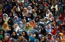 Afghanistan: Taliban mở cánh cửa cho phụ nữ tham gia chính trị