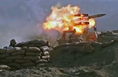 Binh sỹ lục quân Iran tập trận gần biên giới Azerbaijan