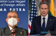 Malaysia và Mỹ cam kết duy trì đà phát triển quan hệ song phương
