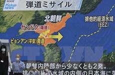 Hàn-Mỹ-Nhật thảo luận các vụ phóng tên lửa liên tiếp của Triều Tiên