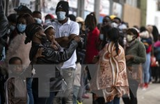 Mỹ và Mexico tập trung giải quyết vấn đề người di cư Haiti
