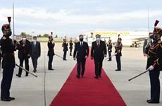 Tổng thống Tajikistan thăm Pháp thảo luận vấn đề Afghanistan