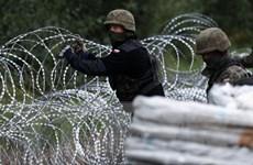 Ba Lan dự kiến chi hơn 400 triệu USD xây tường biên giới với Belarus
