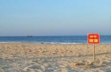 Quảng Trị: Tìm thấy thi thể nam sinh đuối nước do tắm biển