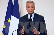 Pháp kêu gọi Mỹ chấm dứt căng thẳng thương mại với châu Âu