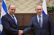 """Thủ tướng Nga Putin đánh giá cao """"mối quan hệ tin cậy"""" với Israel"""