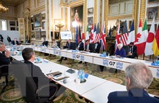 G7 thảo luận các quy tắc kỹ thuật số, xóa bỏ lao động cưỡng bức