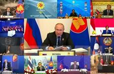 ASEAN-Nga ra tuyên bố chung đảm bảo an ninh hàng hải và hàng không