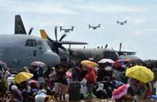 Trung Quốc cử đội cứu trợ bão đầu tiên tới Philippines