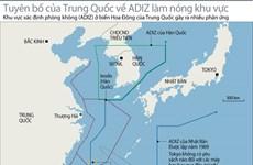 Mỹ kêu gọi Trung Quốc hủy thủ tục hàng không trong ADIZ