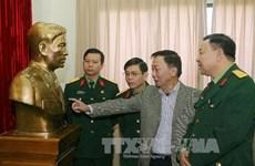 Tiếp nhận tượng chân dung Đại tướng Nguyễn Chí Thanh