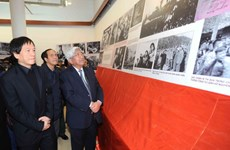 Trưng bày 103 bức ảnh về Đại tướng Võ Nguyên Giáp
