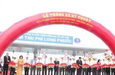 Thông xe đường cao tốc TP.HCM-Long Thành-Dầu Giây