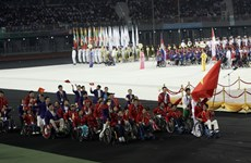 Đoàn Việt Nam chỉ xếp thứ 4 tại Para Games 7