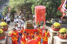 Thành phố Hồ Chí Minh dâng cúng bánh Tét Quốc tổ Hùng Vương