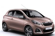 Peugeot giới thiệu mẫu 108 mới chạy trong thành phố