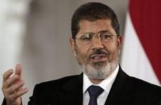 Phiên tòa xét xử cựu Tổng thống Ai Cập Morsi bị hoãn