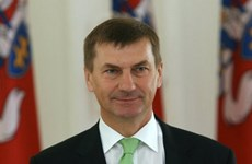 Thủ tướng Estonia Andrus Ansip đã đệ đơn từ chức