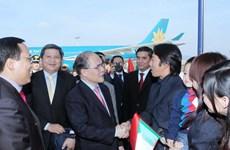 Chủ tịch Quốc hội gặp gỡ cộng đồng người Việt ở Italy