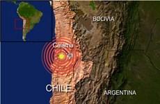 Động đất 6,2 độ Richter làm rung chuyển bờ biển Chile