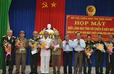 Tri ân các cựu chiến binh và thanh niên xung phong