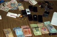 Bắt giữ 23 đối tượng đánh bạc ở Hà Tĩnh và Đắk Nông