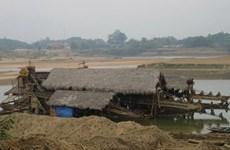 Xử phạt vụ khai thác vàng trái phép lớn nhất trên sông Lô
