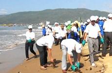 Thí sinh Hoa hậu Đại dương tuyên truyền về môi trường biển, đảo