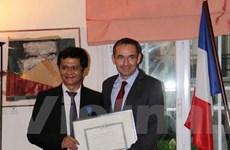 Tổng giám đốc VTV nhận Huân chương Quốc công của Pháp