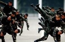Tổ chức Hợp tác Thượng Hải diễn tập chống khủng bố
