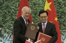 FTA giữa Trung Quốc và hai nước Thụy Sĩ, Iceland có hiệu lực