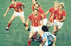 """Thư Brazil: Có ai nhớ bức ảnh """"Maradona trong rừng gươm Bỉ"""""""